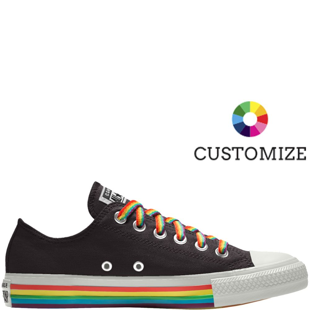 Custom Chuck Taylor All Star Pride Low Top null (With images
