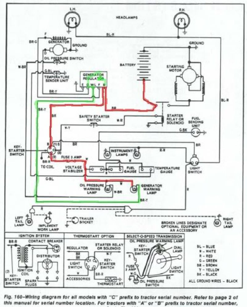 Wiring Diagram For A Ford Tractor 3930 The Diagramwiring John Deere Batteriesand Harness 2310