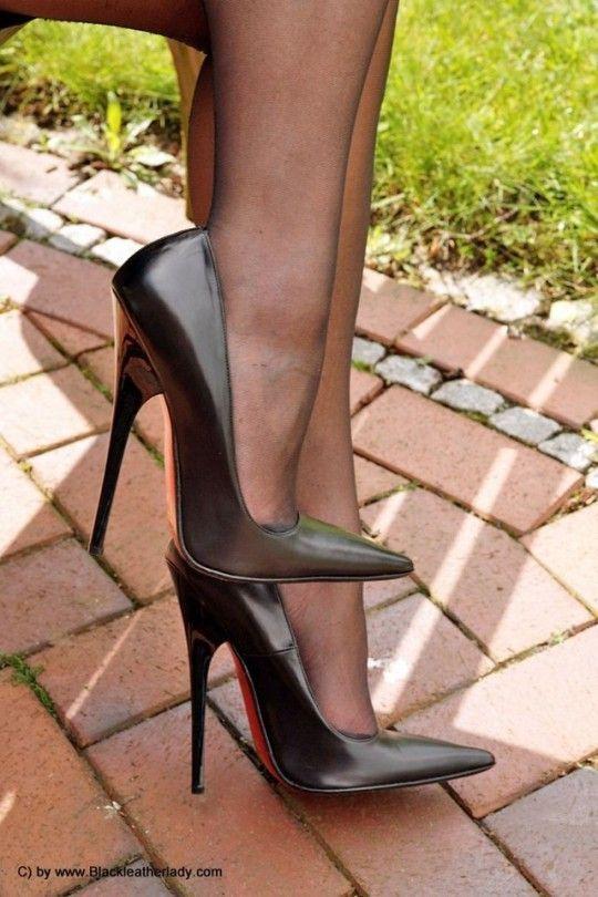 Extreme Fetishbdsm Heels  Stockings  -8212