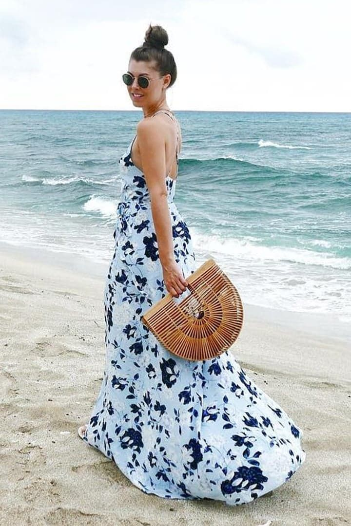 Pin for Later: 15 Ways to Transform Your Maxi Dress Into a Chic Summer Look