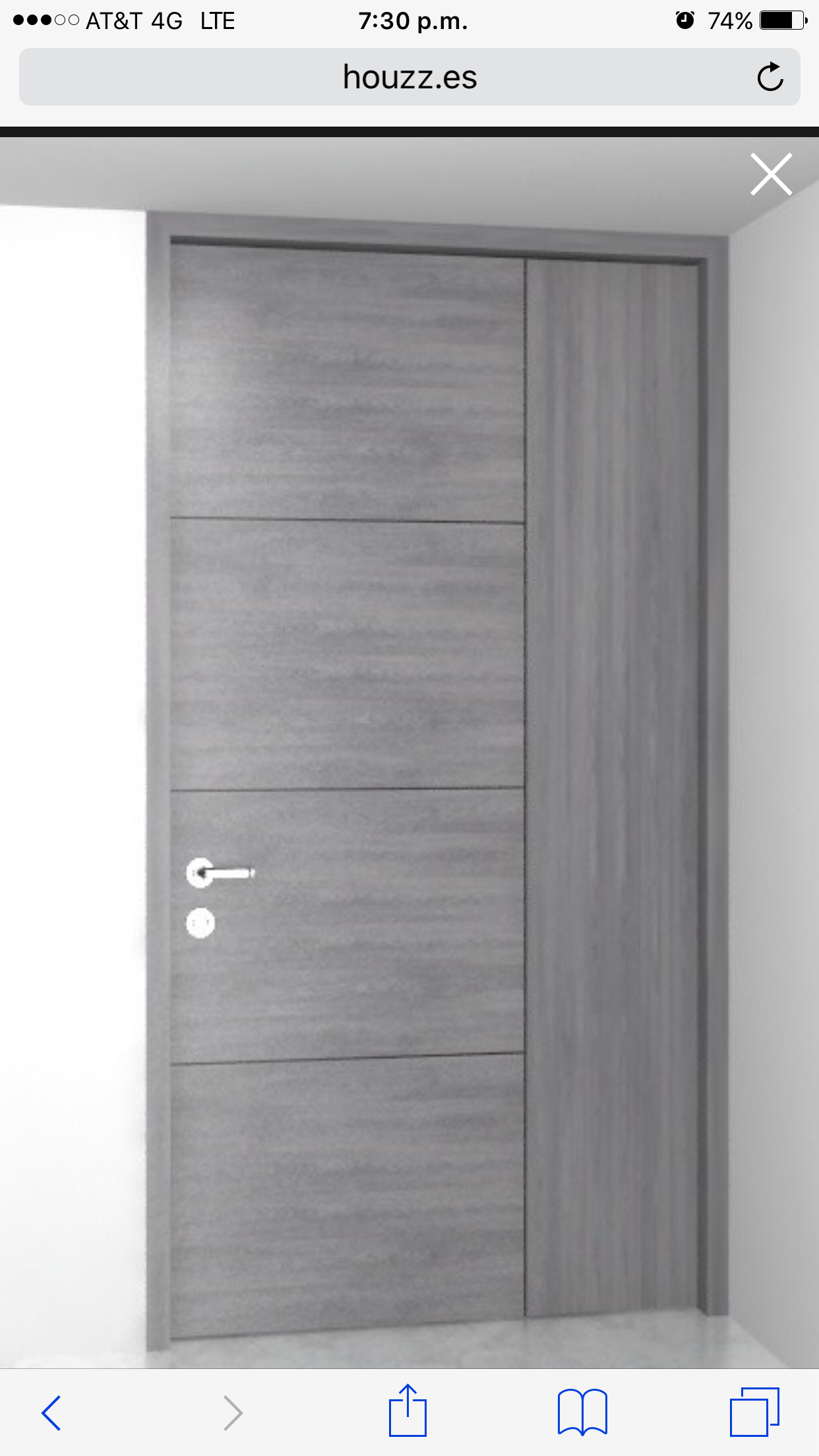 Puerta Encino Gris Doors In 2019 Entr 233 E Maison Maison
