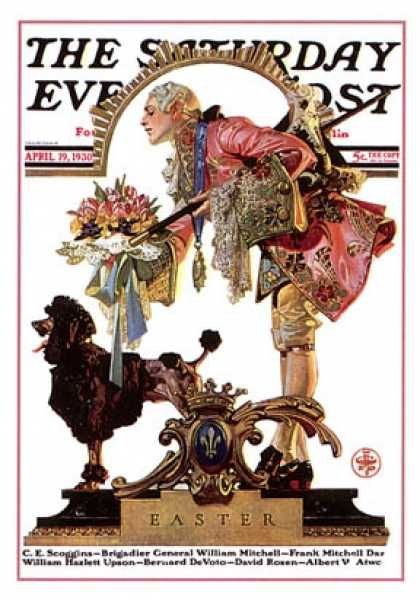 Easter 1929-11-23 Saturday Evening Post