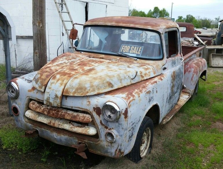 Dodge Pickup For Sale In Northeast Oklahoma Tripper S Travels Old Pickup Old Trucks Classic Cars