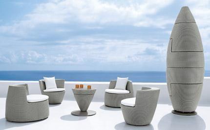 Buy Dedon Obelisk Set Dedon Outdoor Chic Stackable Furniture 3 Stackable Furniture Outdoor Furniture Design Furniture Design Modern