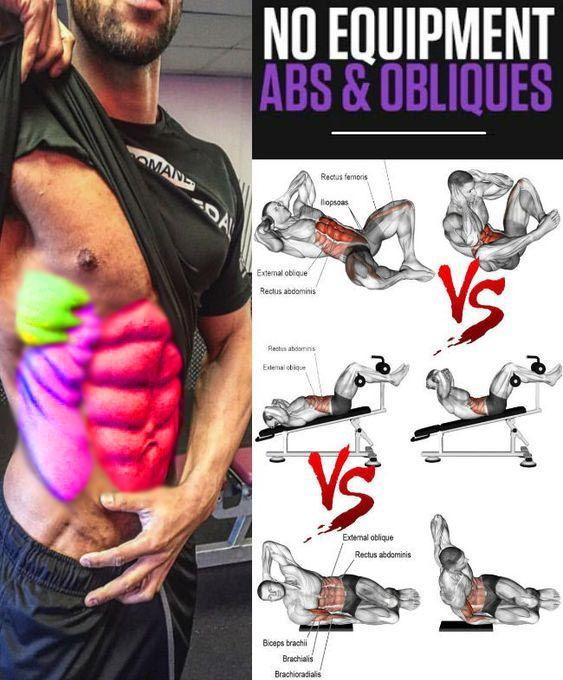 Home Workout Bodybuilding No Equipment