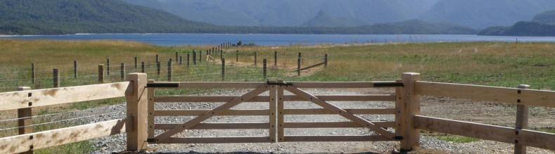 Wooden ranch gate designs boundaryline gates classic