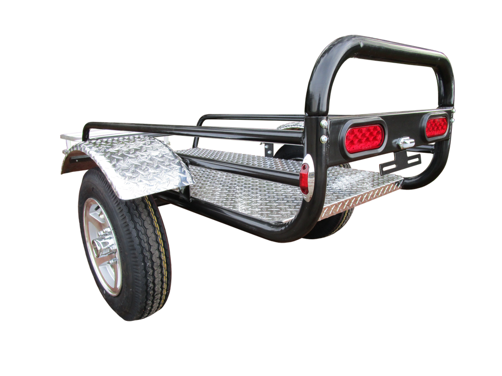 Rally Wagon Motorcycle Trailer | Motorcycle trailer, Rally and Sidecar