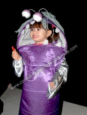 homemade little boo from monsters inc costume every time our daughter wore her hair in - Monster Inc Halloween Costumes Boo