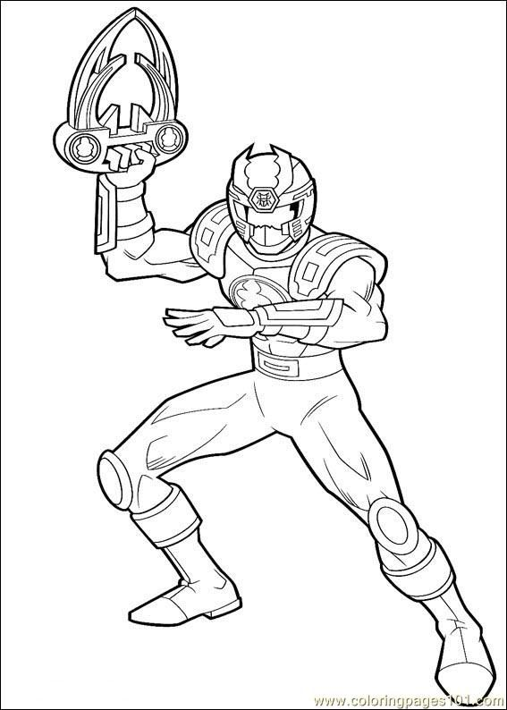 Power Ranger Coloring Pages Pdf