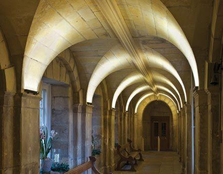 Schloss howard york großbritannien ausgestattet mit led