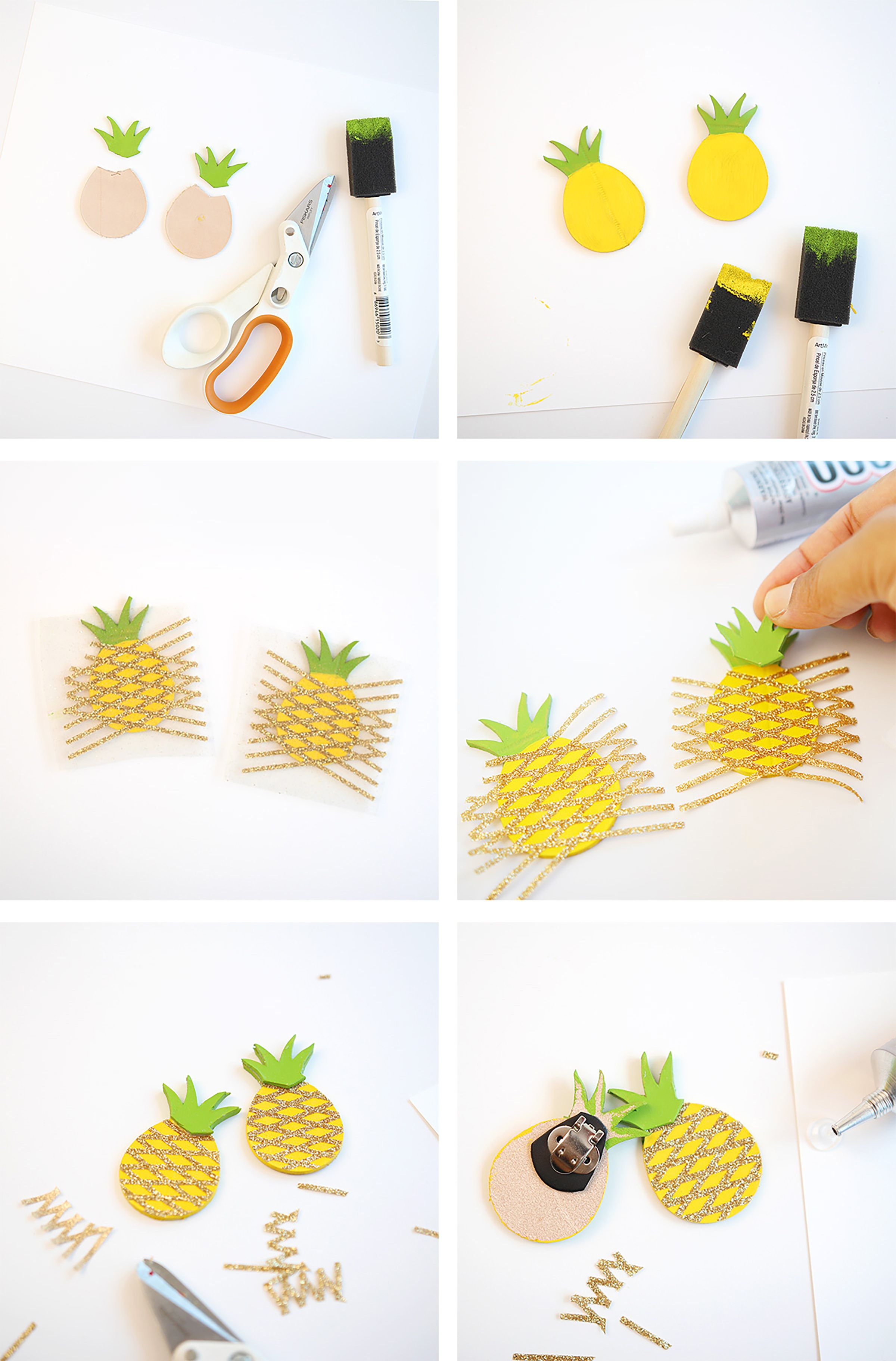 pineapple decorations for kitchen moen faucets warranty craft my flats pineapples crafts