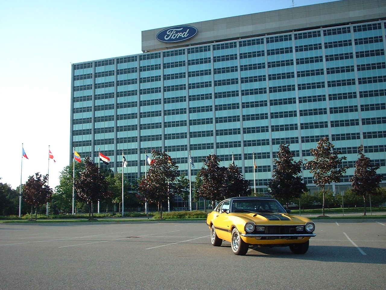 Ford Maverick Ford World Headquarters In Dearborn Michigan Maverick Comet Media Ford Maverick Ford Motor Company Dearborn Michigan