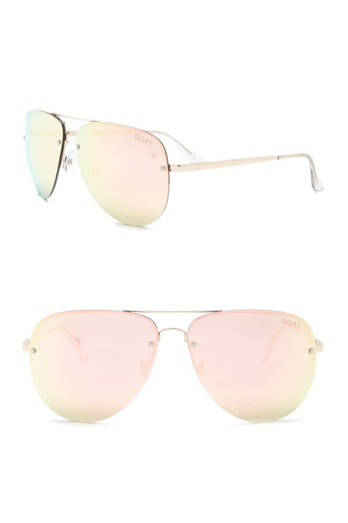 aadd8cf7b22 QUAY AUSTRALIA - 55mm Muse Aviator Sunglasses is now 58% off. Free Shipping  on orders over  100.