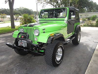 Ebay Jeep Cj Two Door Beautifully Restored 1983 Jeep Cj7 Only
