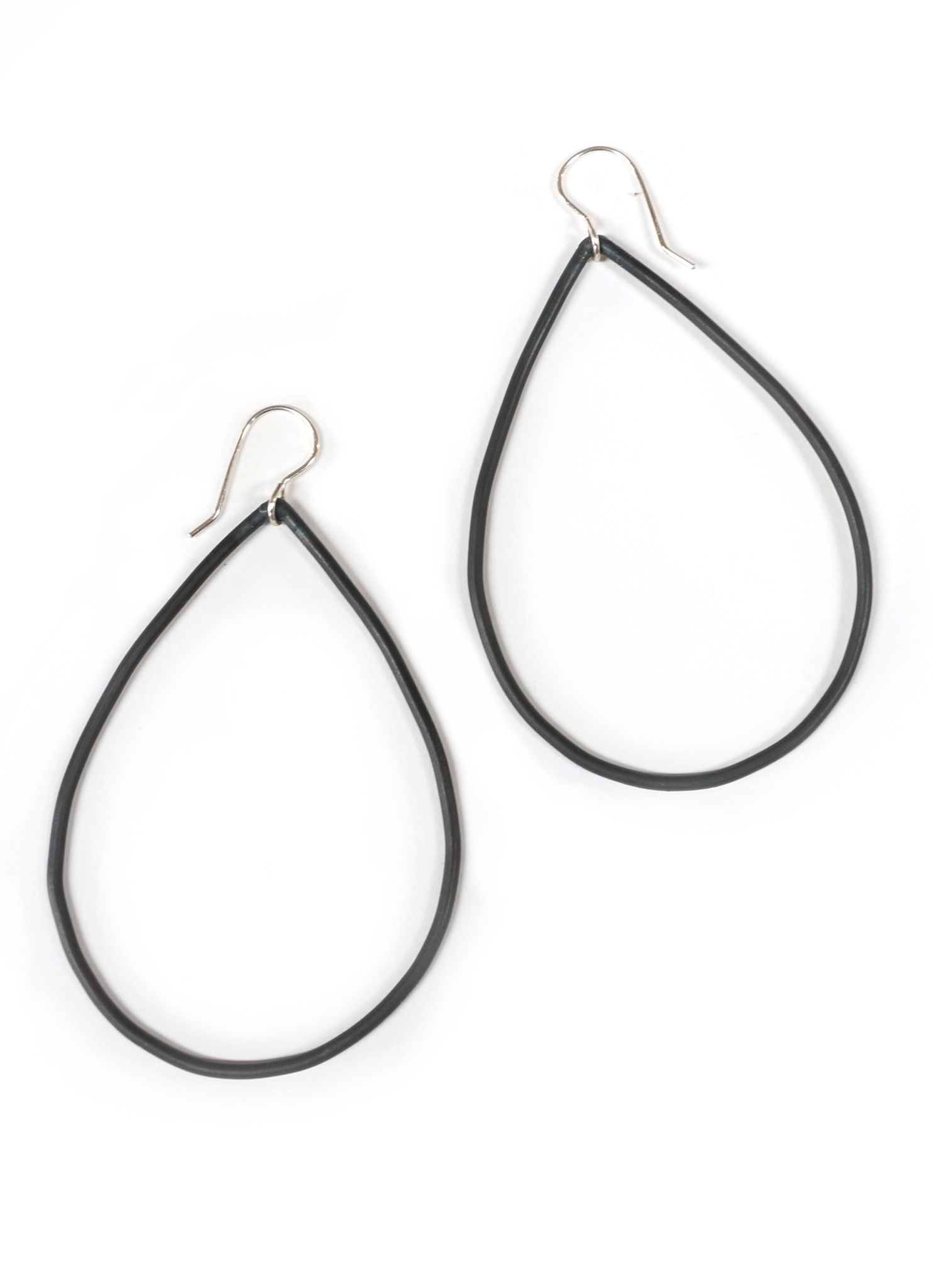 A bold take on our classic extra large Gabrielle earrings, this new version has been updated in a thicker design that's still supremely wearable. Available in four options - steel with sterling ear wi