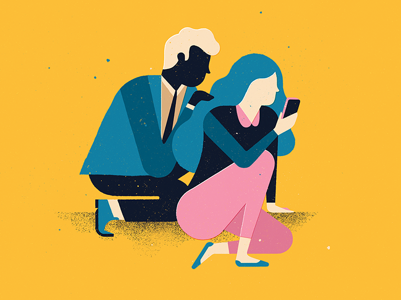 Mobile Security in 2019   illustration   Mobile security