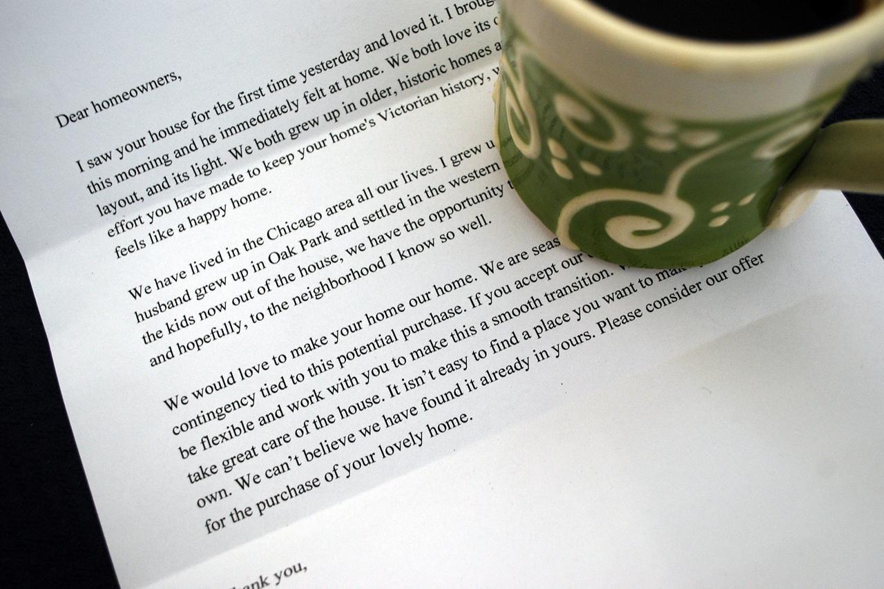 34+ Offer letter dear home seller letter sample ideas in 2021