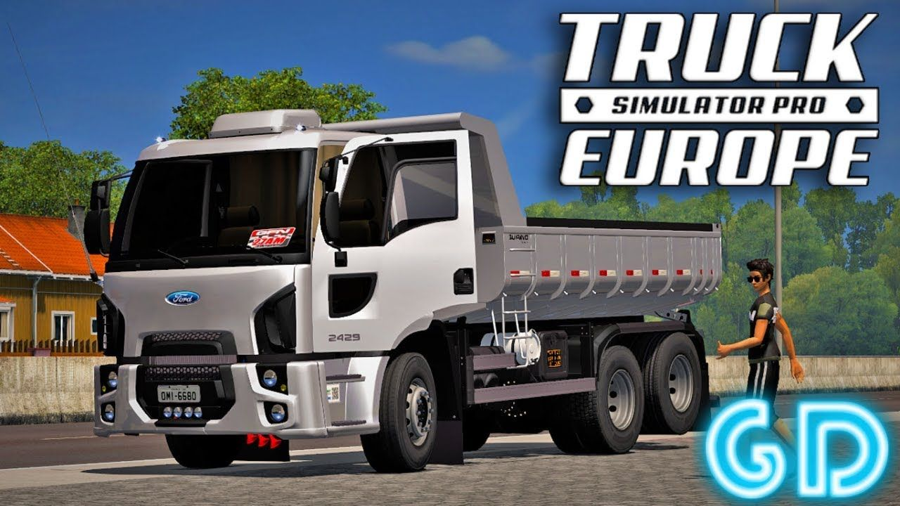 Truck simulator pro europe mod apk android 1