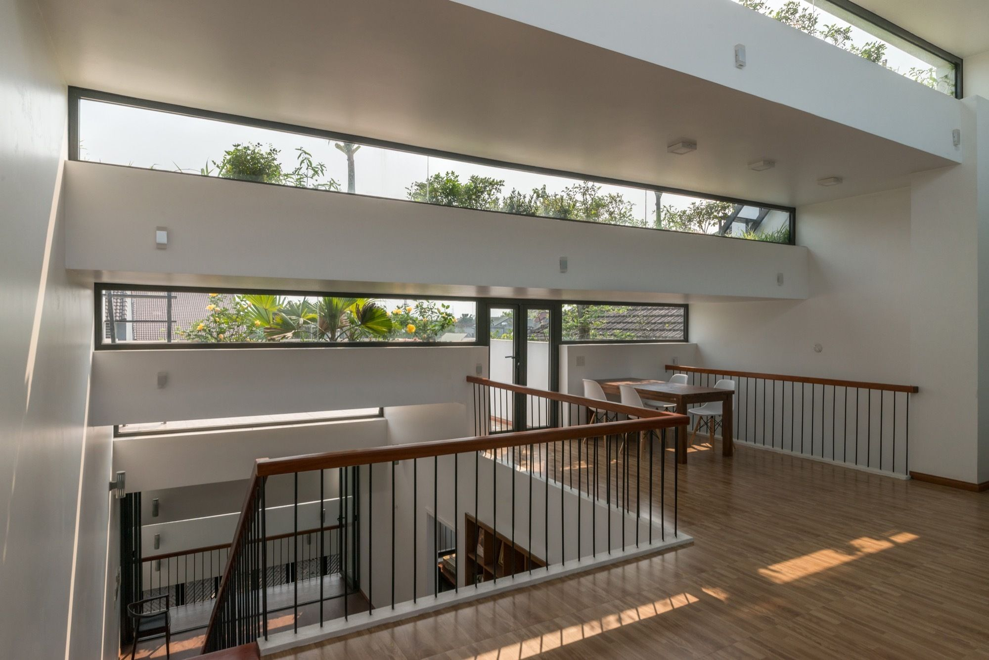 Image 2 of 36 from gallery of Terraces Home / H&P Architects. Photograph by Nguyen Tien Thanh