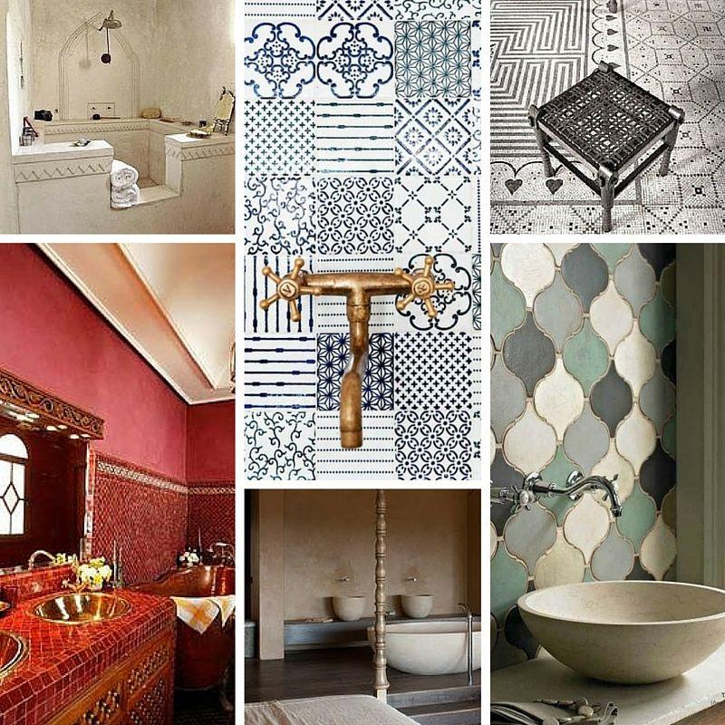 Come arredare un bagno in stile etnico | Design trends and Bathroom ...