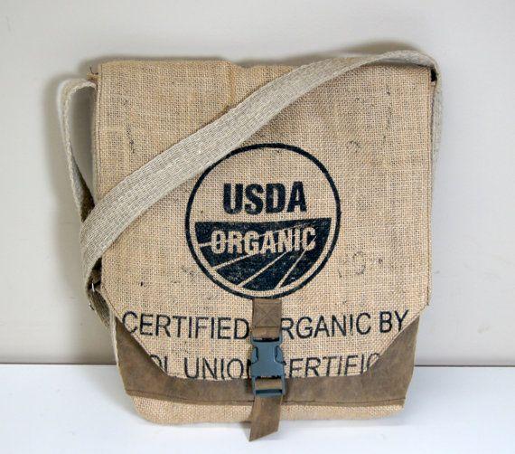 Laptop Bag Cross Body Messenger Bag Repurposed by RevivallClothing
