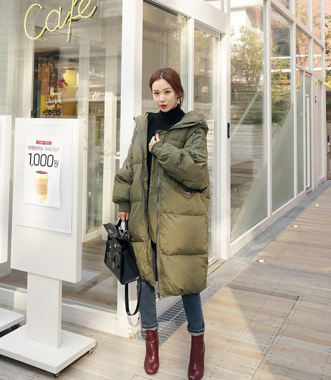 pighip(MT) #banyoonhee #style winter5  Winter outfits, Korean