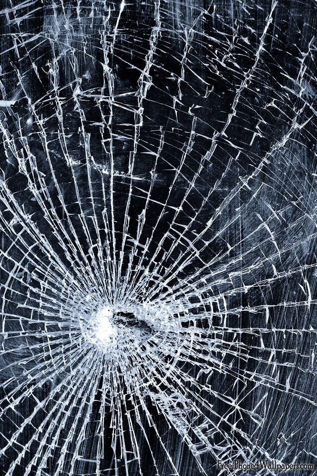 cracked phone screen wallpapers