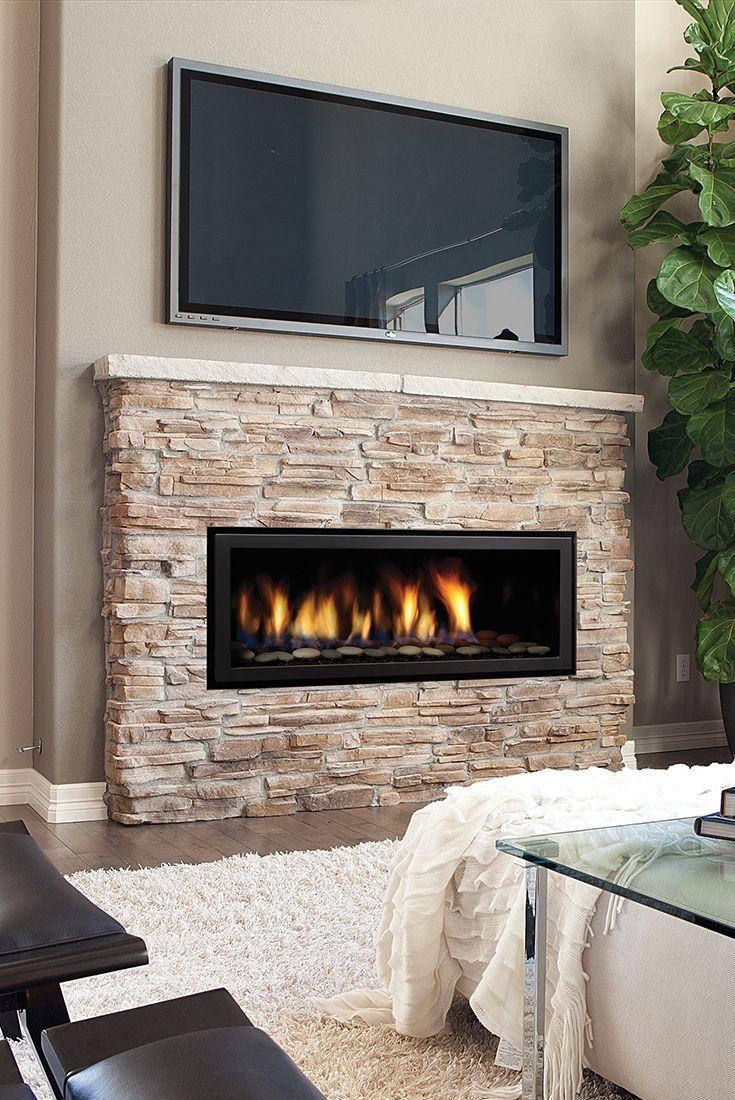 Regency HZ40E Contemporary Gas Fireplace  Farmhouse in