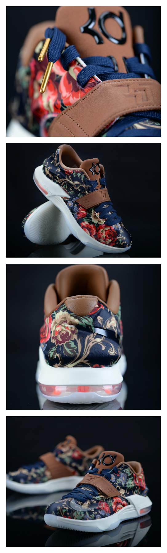 Guys like flowers, too. Start Valentine's Day early and snag your own Nike KD 7s tomorrow. #Floral