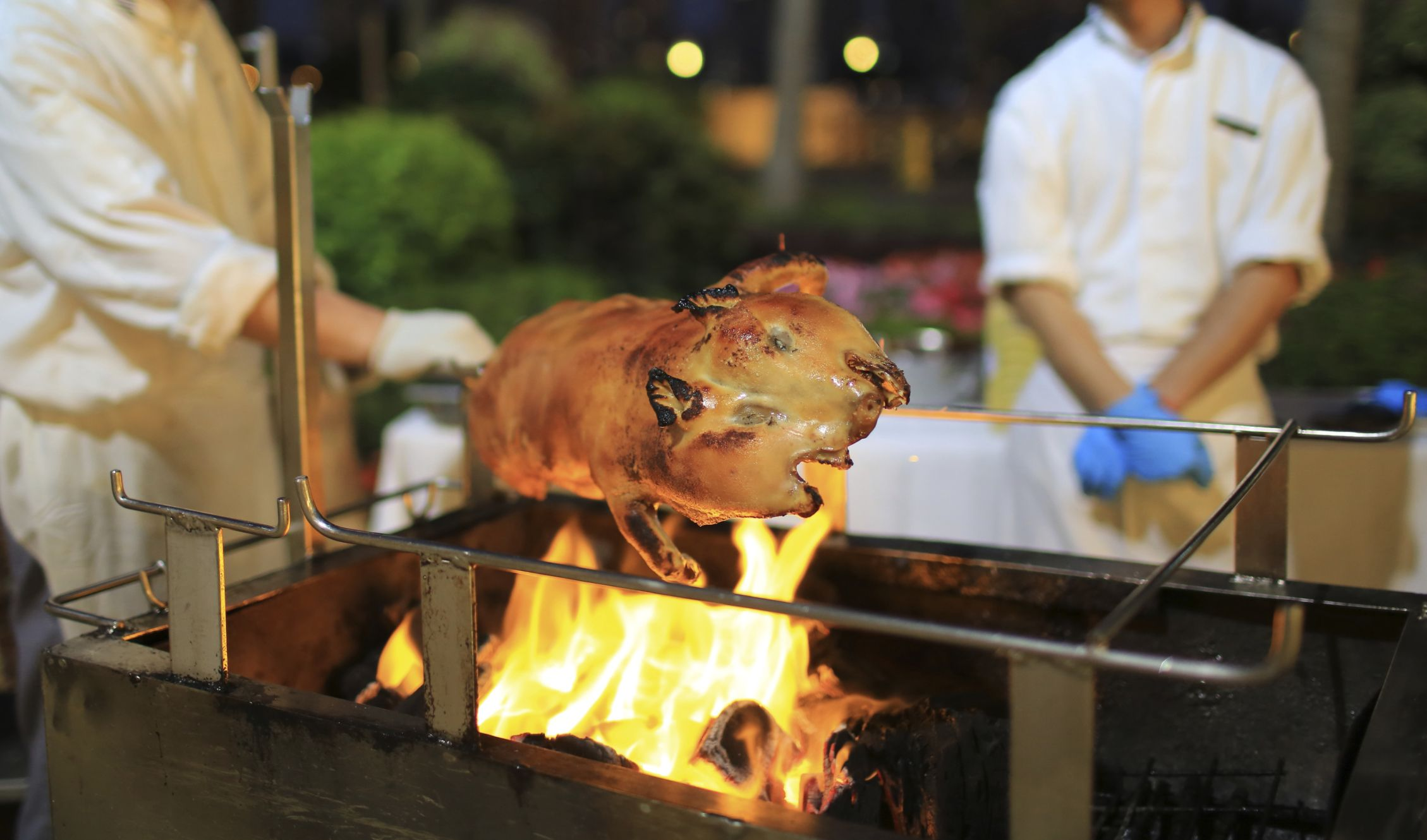 Types Of Food To Have At A Pig Roast Wedding TipsWedding MenuHitching