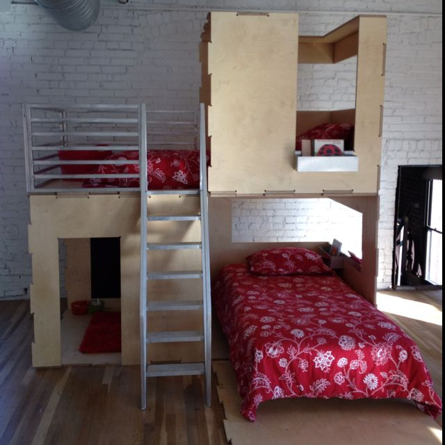 Cama Loftbunk Bed From Play Modern Wwwplay Moderncom - Cama-loft