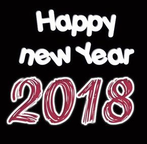 Perfect Animated Happy New Year 2018 Images | GOOD MORNING | Pinterest | Moving Gif