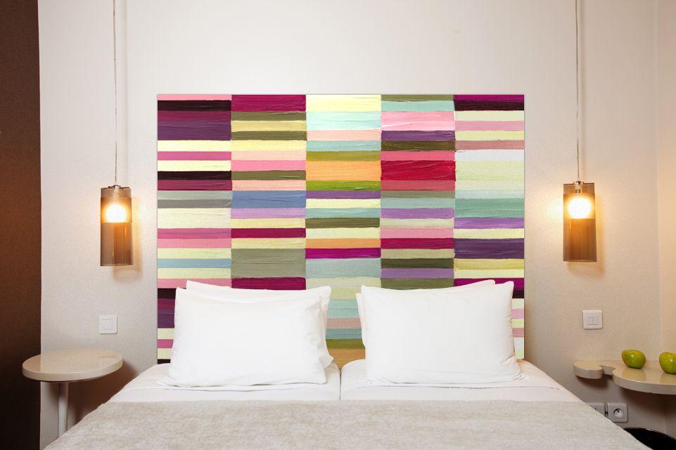Deux idées de tête de lit en tissu Furniture redo, Lights and Bedrooms