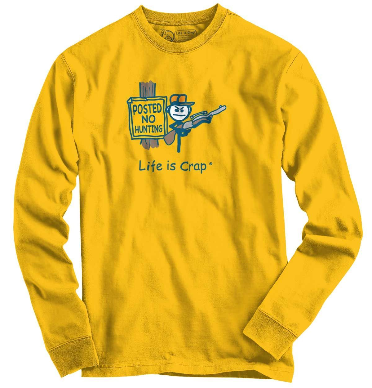 Posted No Hunting Long Sleeve Tee