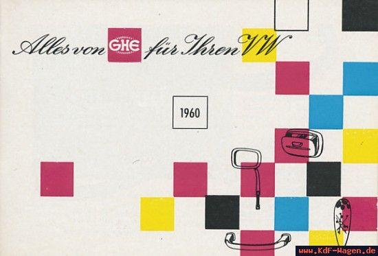 VW - 1960 - Alles von GHE für Ihren VW - [8215]-1