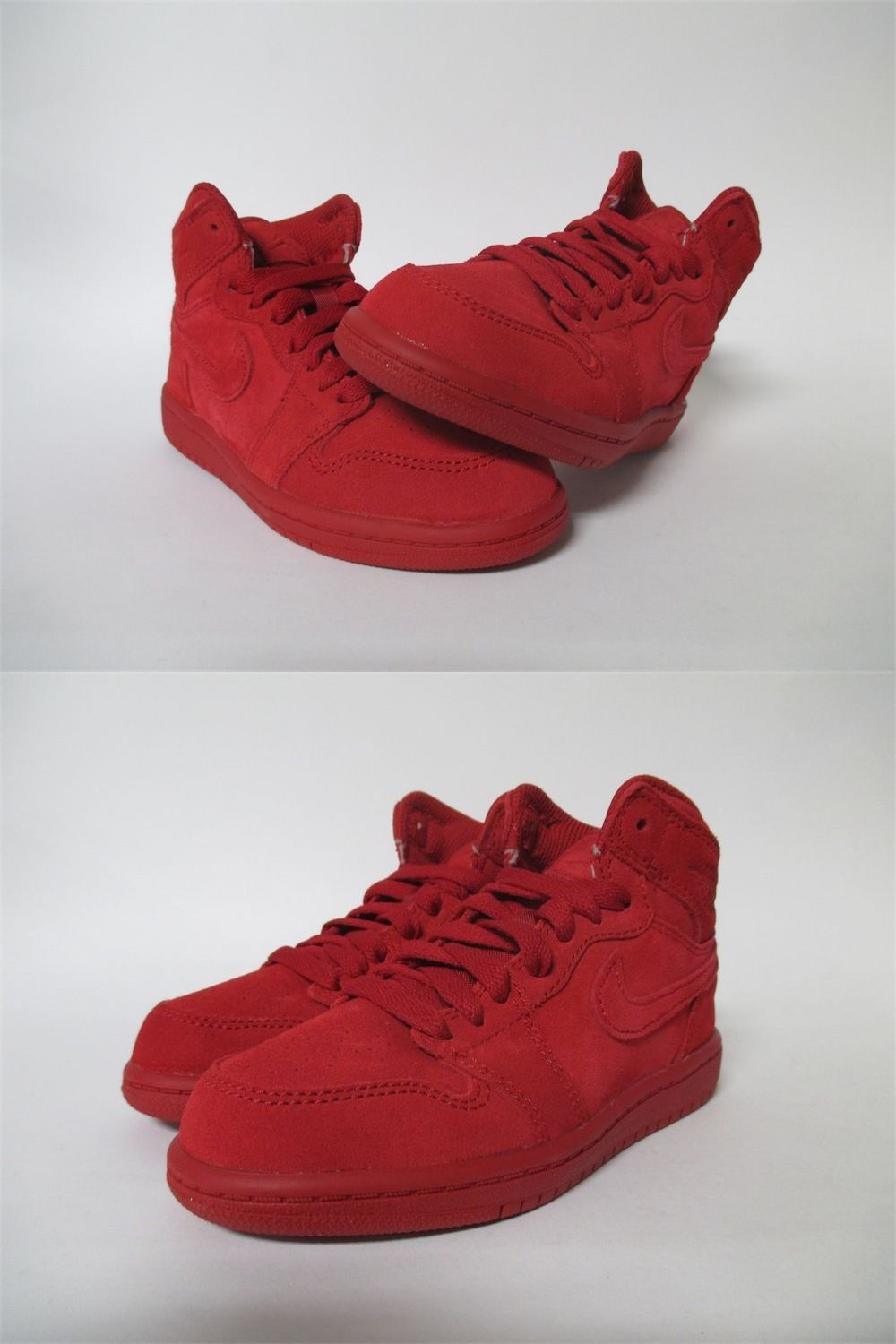 promo code 6b50a 04eb6 Unisex Shoes 155202  Air Jordan 1 Retro High Ps Gym Red Suede Youth Pre  School Sizes 705303-603 -  BUY IT NOW ONLY   49.99 on eBay!