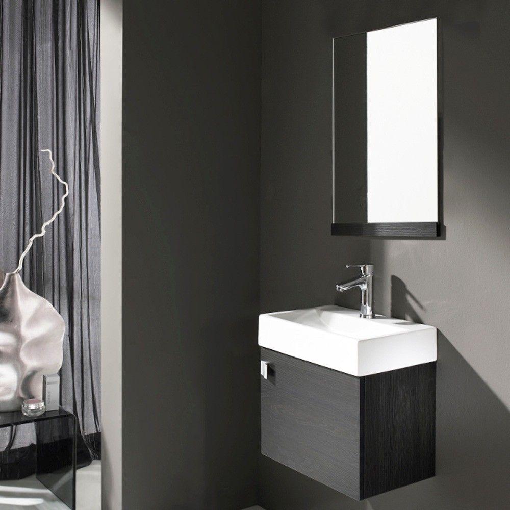Conjunto mueble de ba o bath paris wengue hogar for Decoracion mueble bano