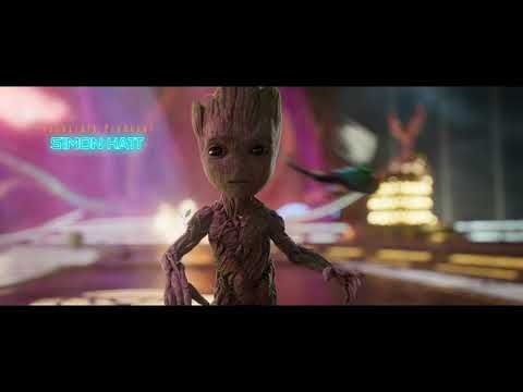 One Of The Best Movie Openings Baby Groot Dancing Good Movies Guardians Of The Galaxy