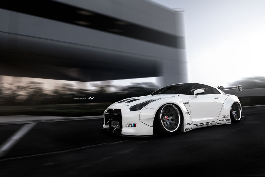 Liberty Walk GTR | ActivFilms.TV