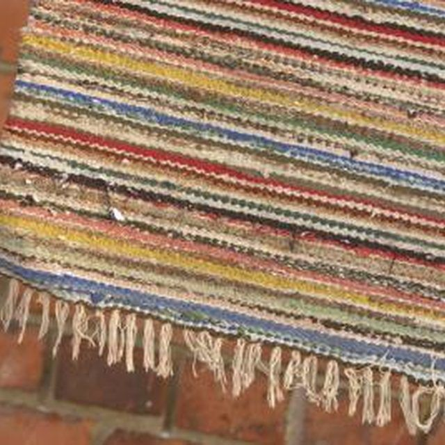 How To Make A Knotted Rag Rug Rag Rugs Pinterest Rugs Rug