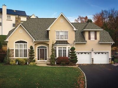 GAF Timberline American Harvest Cedar Falls Roof Home Contractor Modern Architectural