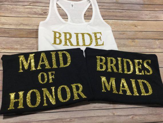 Wedding Party Tank tops