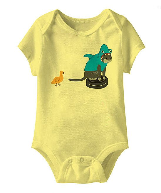Proof that as soon as a video goes viral, someone will put it on a shirt. Banana Roomba Shark Bodysuit - Infant