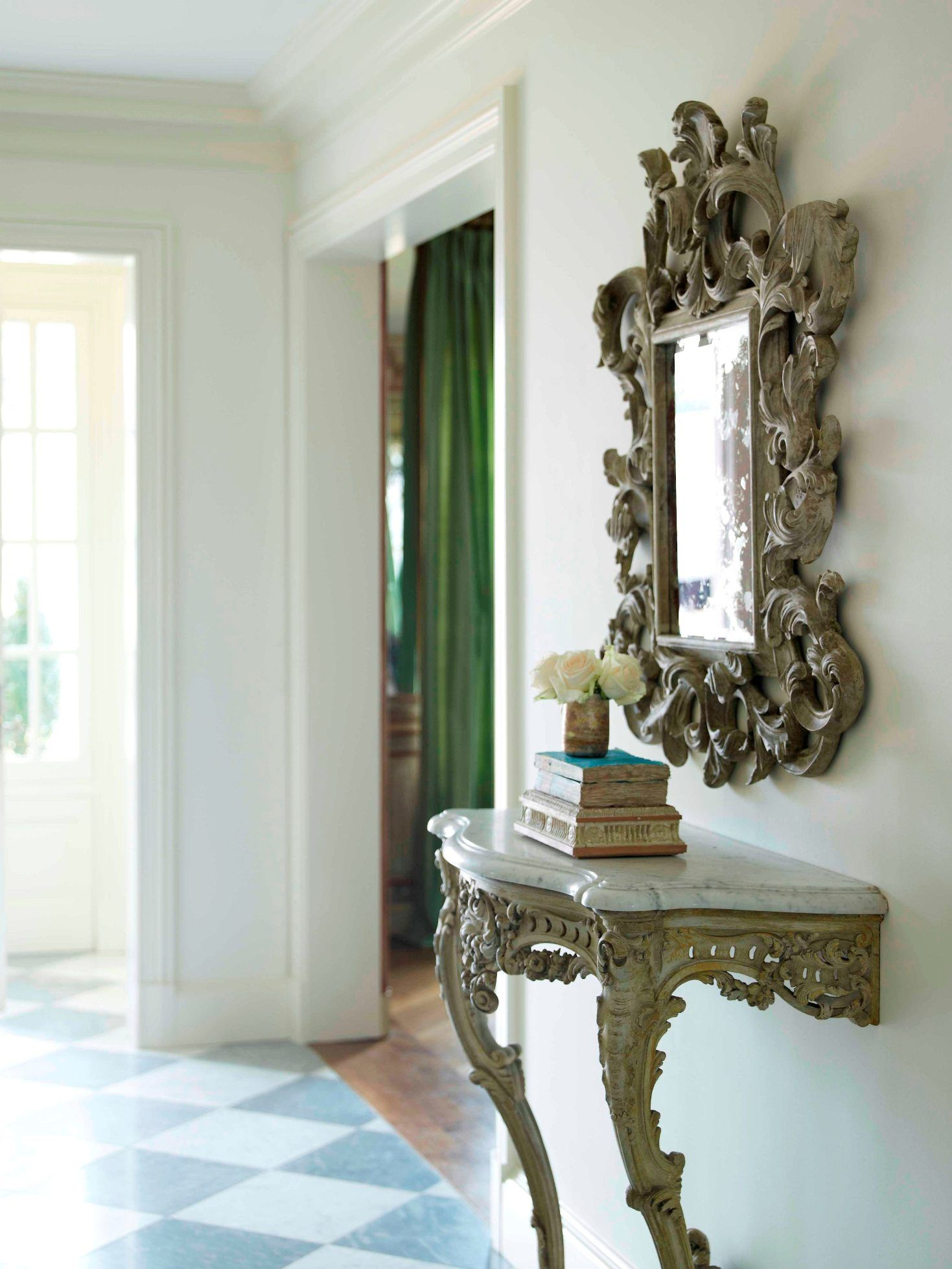 Outstanding Foyer Foyer Mirror French Interiordesign Dallas Texas Home Interior And Landscaping Ologienasavecom