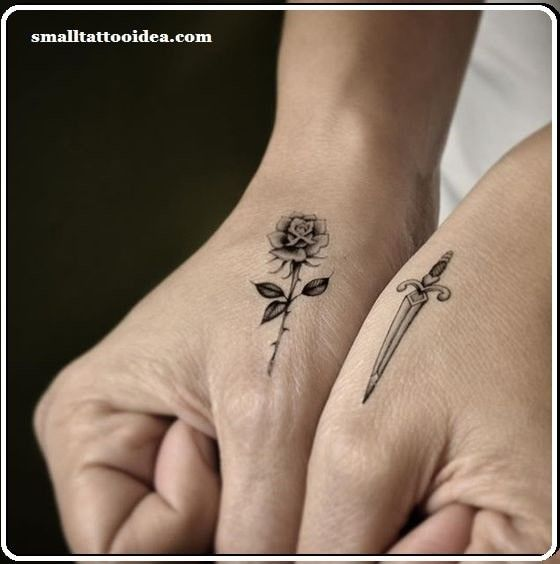 61 Small Rose Tattoos Designs For Men And Women Hand Tattoos For Girls Small Hand Tattoos Hand Tattoos