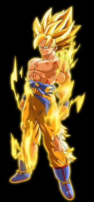 Goku super saiyan 2 dragon ball z pinterest goku - Sangoku super sayen 2 ...