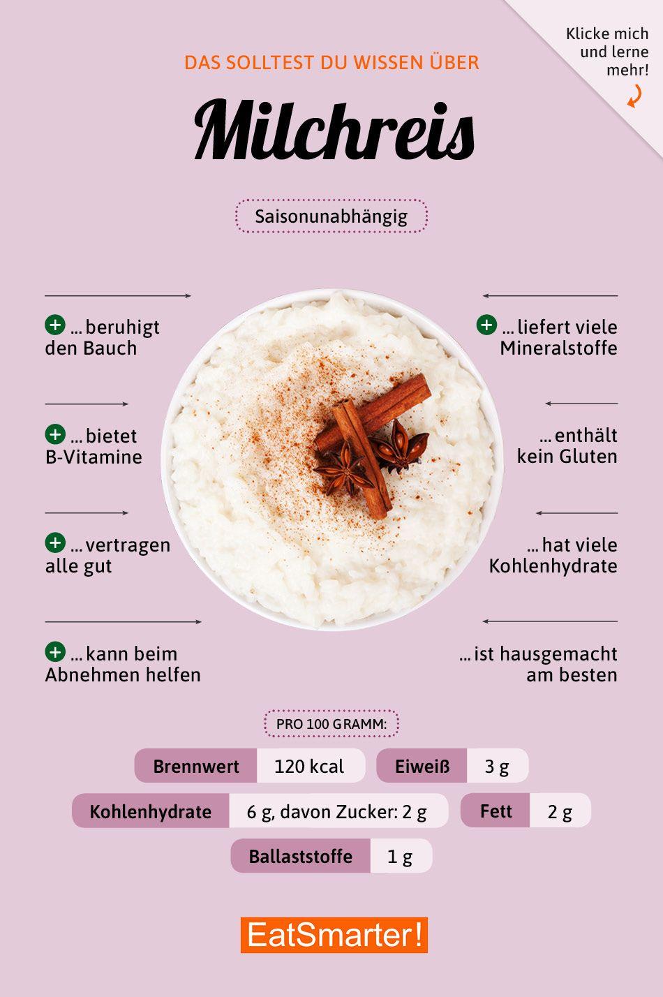 Milchreis #nutritionhealthyeating