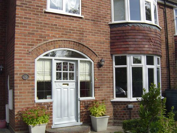 York semi-detached house | 1930s House Front | House doors ...