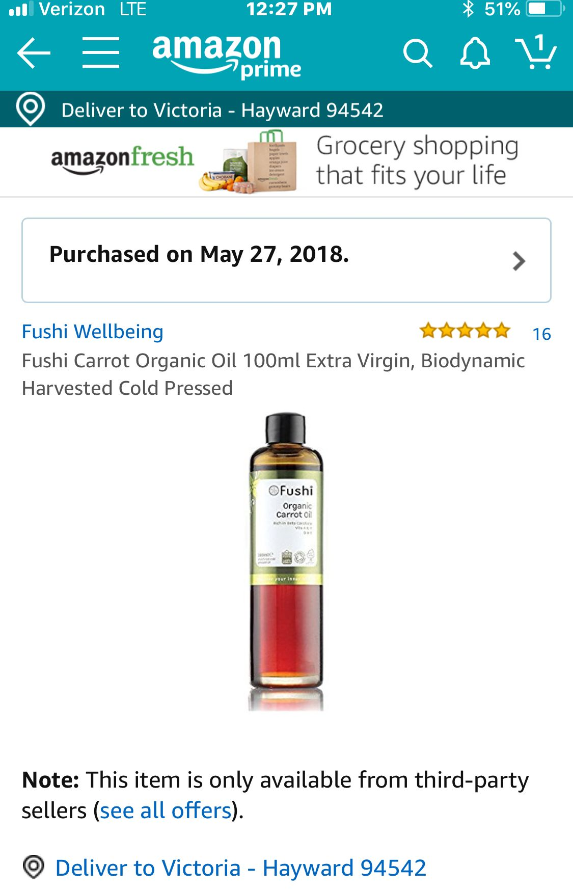 carrot seed oil, which is an extremely beneficial oil, but