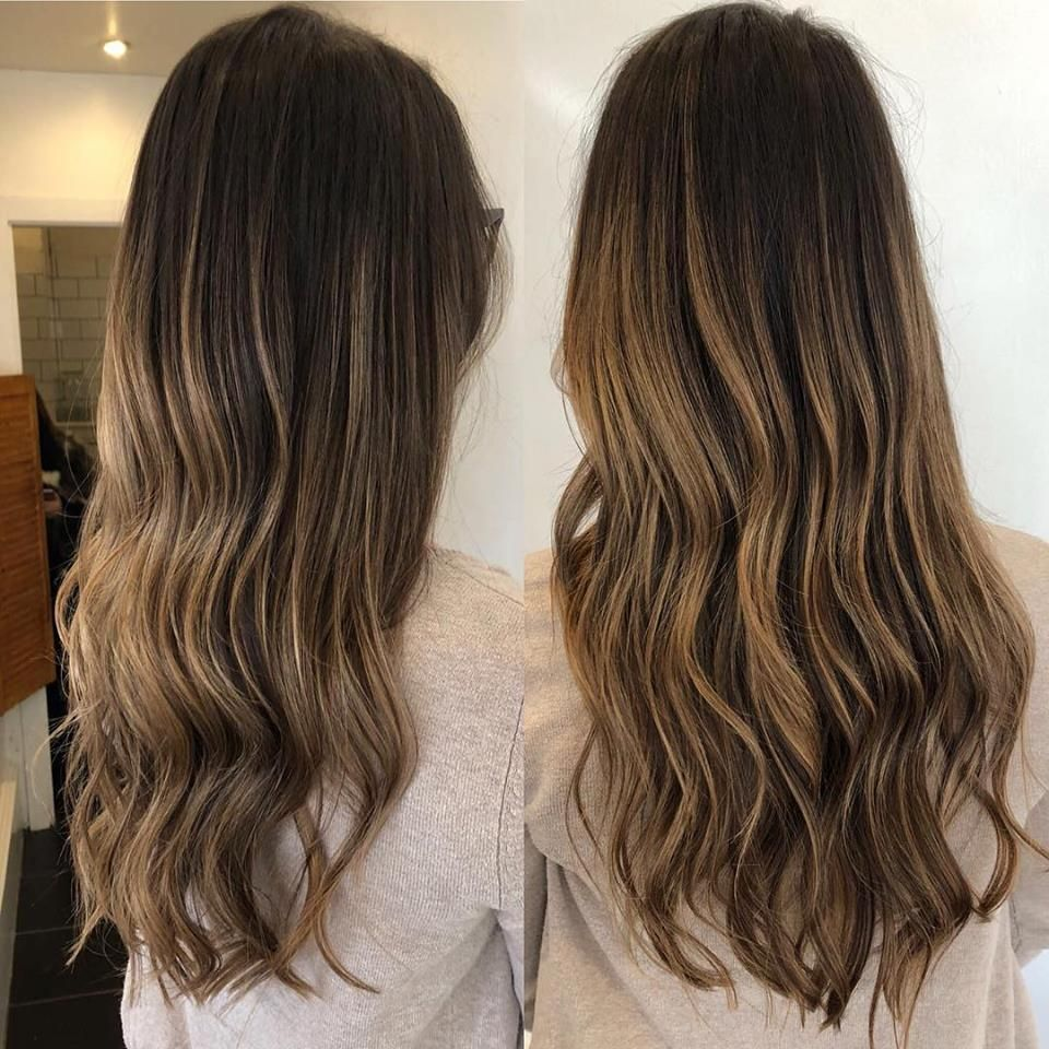 Ombre By Mollie Dip Dye Hair Brunette Blonde Dip Dye Ombre Balayage